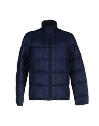 Closed Coats And Jackets Down Jackets Men Dark Blue