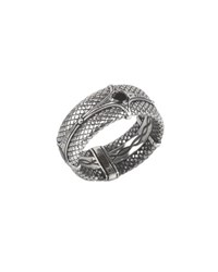 Konstantino Men's Aeolus Sterling Silver And Spinel Band Ring