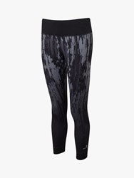 Ronhill Momentum Cropped Running Tights Grey