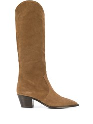The Seller Mid Calf Boots Brown