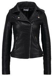 Glamorous Tall Faux Leather Jacket Black
