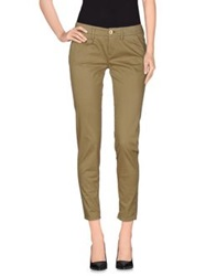 Maison Clochard Casual Pants Military Green