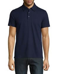 Brooks Brothers Textured Knit Polo Navy