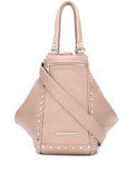 Marc Ellis Studded Tote Bag Pink