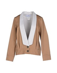 Gianfranco Ferre Gf Ferre' Suits And Jackets Blazers Women Camel