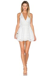 Finders Keepers Brixton Fit Flare Dress White