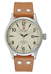 Swiss Military Hanowa Undercover Watch Light Brown