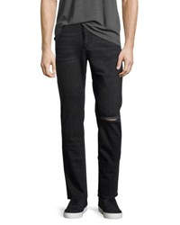 Dl Cooper Relaxed Skinny Jeans Charcoal