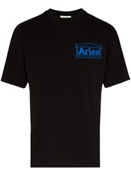 Aries Logo Print T Shirt 60