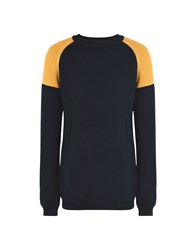 8 Knitwear Jumpers Dark Blue