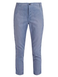 The Great Carpenter Low Slung Trousers Light Blue