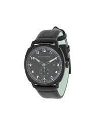 Larsson And Jennings Meridian Black Leather 38Mm Watch
