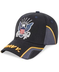 Us Honor Men's Navy Force Graphic Hat Black