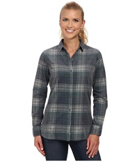 Woolrich Rappel Cord Shirt Canyon Women's Long Sleeve Button Up Multi