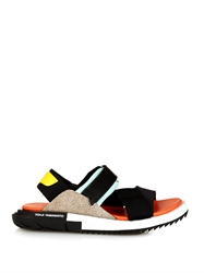 Y 3 Kaohe Neoprene And Leather Sandals