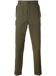 Etro Military Cargo Trousers Green