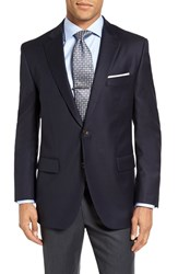 Peter Millar Men's Big And Tall 'Flynn' Classic Fit Navy Wool Blazer