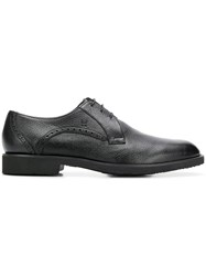 Moreschi Classic Derby Shoes Black