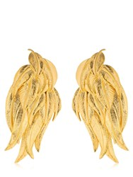 Aurelie Bidermann Elvira Earrings Gold