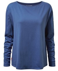 Craghoppers Nosilife Erin Long Sleeve T Shirt From Eastern Mountain Sports Soft Denim
