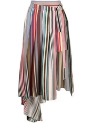 Monse Asymmetric Skirt Multicolour