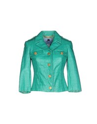 Blumarine Suits And Jackets Blazers Women Green