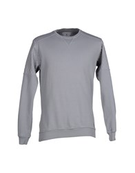 Macchia J Topwear Sweatshirts Men Light Grey