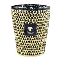 Baobab Raffia Scented Candle Limited Edition Manja Black And White Gold