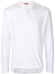 Barena Nalin Buttoned T Shirt White