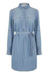 Oasis Libby Shirt Dress Denim
