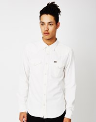 Lee L643 Western Shirt Slim Fit White