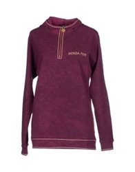 Patrizia Pepe Sweatshirts Purple
