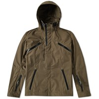 Acronym J1b S High Density Gabardine Interops Jacket Green