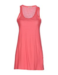 Devotion Tank Tops Coral