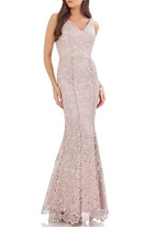Js Collections Women's Lace Mermaid Gown