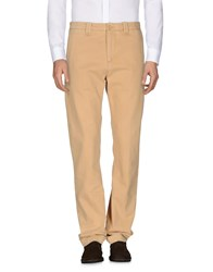 Care Label Casual Pants Camel