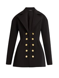 Ellery Marilyn Twill Jacket Black