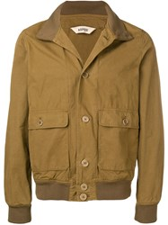 Aspesi Cargo Pocket Military Jacket Green