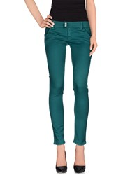 Cycle Trousers Casual Trousers Women Emerald Green