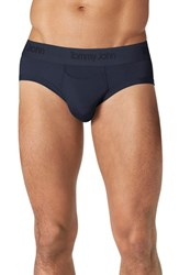 Men's Tommy John 'Second Skin' Briefs Dress Blues