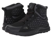 The North Face Mountain Sneaker Mid Wp Tnf Black Smoked Pearl Grey Men's Shoes
