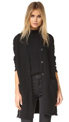 Raquel Allegra Sweater Coat Black