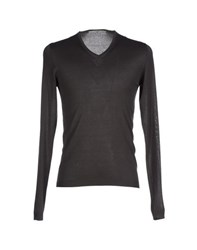 Become Knitwear Jumpers Men Steel Grey