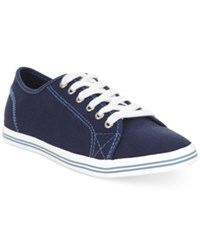 Nautica Lanyard Canvas Sneakers Women's Shoes Nautica Navy