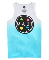 Maui And Sons Men's Dip Dyed Tank Top