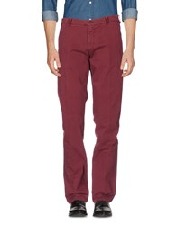 40Weft Casual Pants Maroon