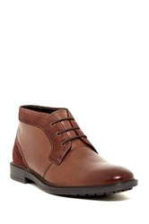Stacy Adams Delaney Plain Toe Chukka Boot Brown