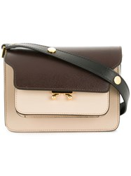 Marni Trunk Shoulder Bag Small Neutrals