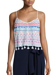 Lilly Pulitzer Katen Cropped Top Multicolor