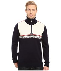 Dale Of Norway Lahti Sweater Navy Raspberry